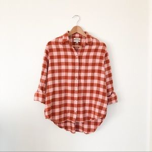 Madewell Flannel Shirt in Buffalo Check